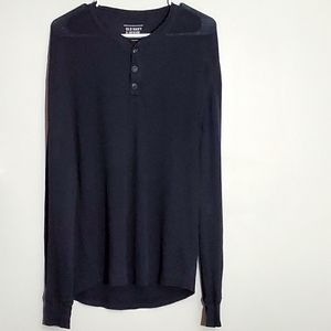 Old Navy Solid Black Long Sleeve Thermal